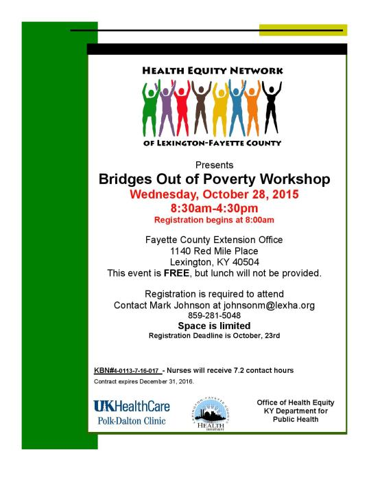 HEN Bridges out of Poverty Workshop Flyer and Agenda Fall 2015-page-001
