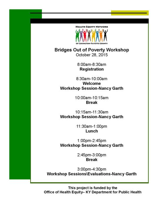 HEN Bridges out of Poverty Workshop Flyer and Agenda Fall 2015-page-002