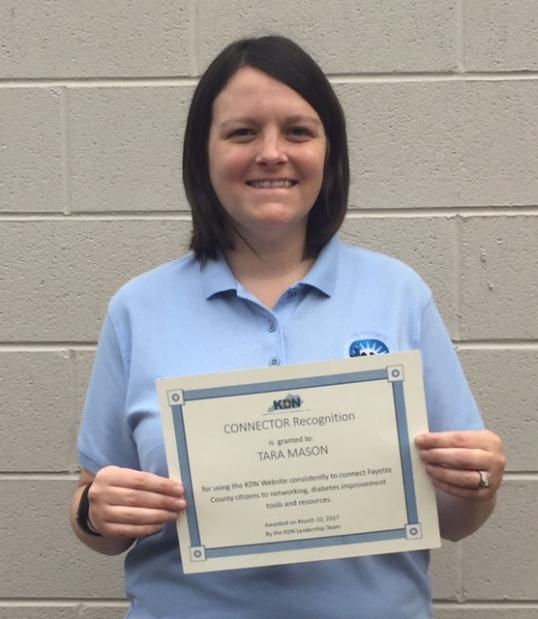 Tara Mason receives honor