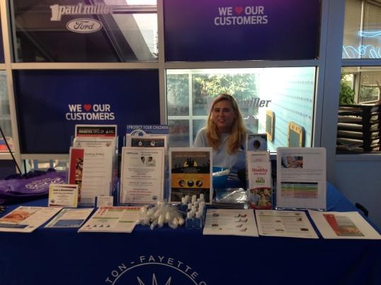 Oct. 21 health fair